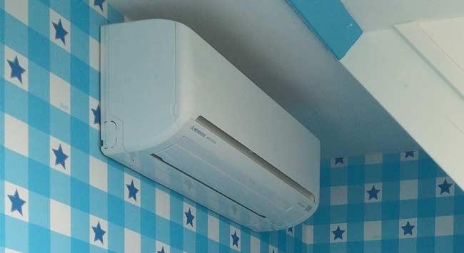 Airconditioning in de slaapkamer
