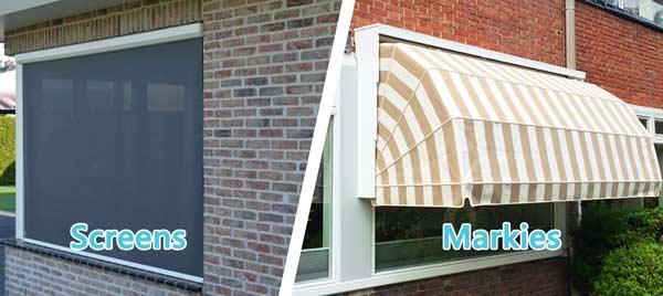 Wat zijn de verschillen tussen markiezen en screens?